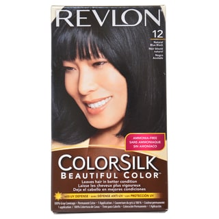 Revlon ColorSilk Beautiful Color Natural Blue Black Hair Color (1 Application)