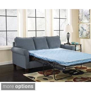 Signature Design by Ashley Zeth Denim Sleeper Sofa
