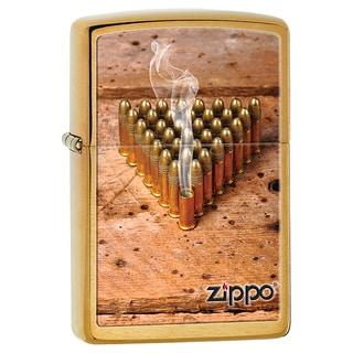 Zippo Windproof Brown Bullets Lighter