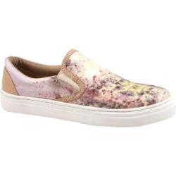 Women's Bronx Zee Row Multi Pink/Natural Satin Print/Nappa