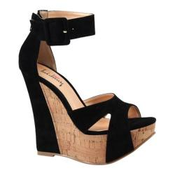 Women's Luichiny Some Nights Black Imi Suede