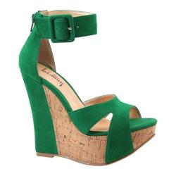 Women's Luichiny Some Nights Green Imi Suede
