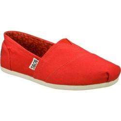Women's Skechers BOBS Plush Peace and Love Red