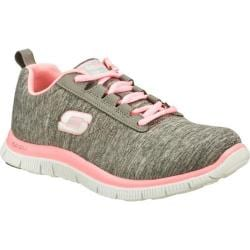 Women's Skechers Flex Appeal Next Generation Gray/Pink