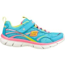 Girls' Skechers S Lights Lite Dreams II Blue/Multi