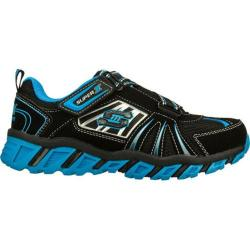 Boys' Skechers S Lights Pillar Black/Blue/Blue