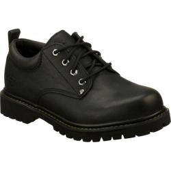 Men's Skechers Tom Cats Black Oily Leather (BOL)