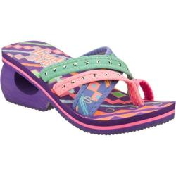 Girls' Skechers Twinkle Toes Spinners City Surfer Purple/Multi