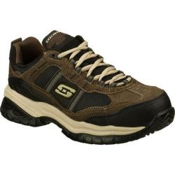 Men's Skechers Work Relaxed Fit Soft Stride Grinnell Comp Brown/Black