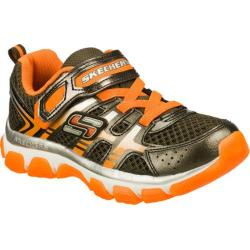 Boys' Skechers X-Cellorator Gunmetal/Orange