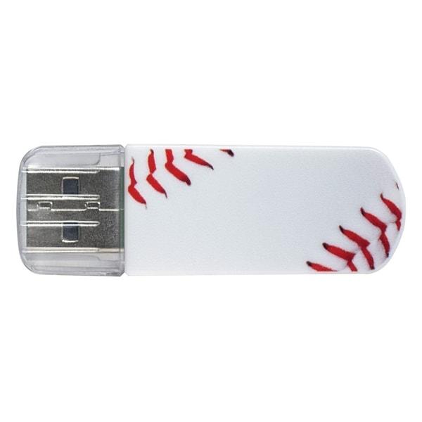 Verbatim 8GB Mini USB Flash Drive, Sports Edition - Baseball