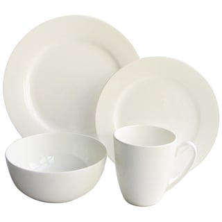 Classique 16-piece Bone China Rimmed Dinnerware Set