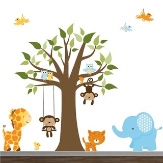 Jungle Wall Decal Set