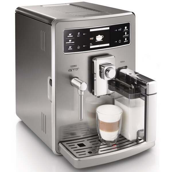 Saeco HD8944/47 Stainless Steel Xelsis Automatic Espresso Machine