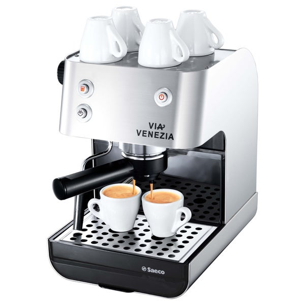 Saeco RI9367/47 Via Venezia Stainless Steel Manual Espresso Machine