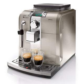 Saeco HD8837/47 Syntia Stainless Steel Automatic Espresso Machine