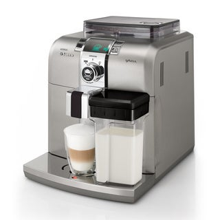 Saeco HD8838/47 Syntia Stainless Steel Cappuccino Automatic Espresso Machine