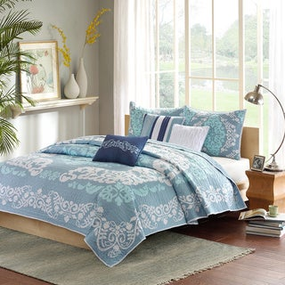 Madison Park Leila 6-piece Coverlet Set