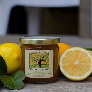 Frog Hollow Farms Organic Meyer Lemon Marmalade (Pack of 3)