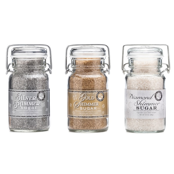 Pepper Creek Farms Glam Party Shimmer Sugar Trio