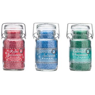 Pepper Creek Farms Jewel Tones Shimmer Sugar Trio