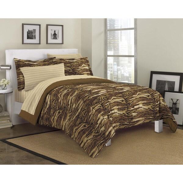 Sahara 7-piece Bed in a Bag with Sheet Set