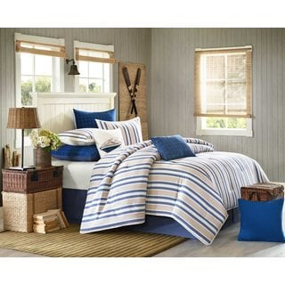 Woolrich Lake Side Cotton 4-piece Comforter Set with Optional Euro Sham Separate