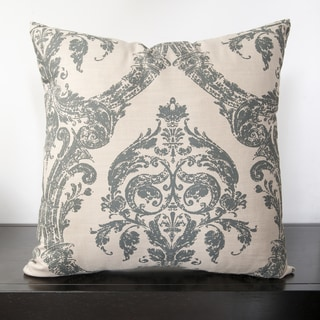 Silver Ace 18-inch Down Feather or Poly Filled Decorative Throw Pillow