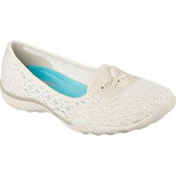 Women's Skechers Relaxed Fit Breathe Easy Cutie Pie Flat Natural