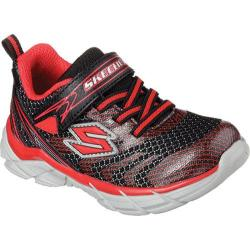 Boys' Skechers Rive Sneaker Black/Red