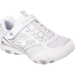 Girls' Skechers S Lights Jinxies White/Silver