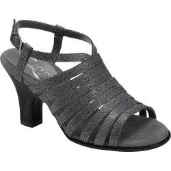 Women's Aerosoles Energinic Sandal Dark Gray Combo Fabric