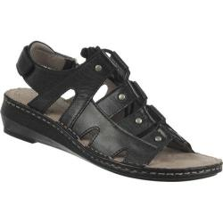 Women's Naturalizer Leona Black Hispacho Leather