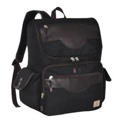 Everest Wrangler Black Laptop Backpack