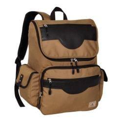 Everest Wrangler Tan Laptop Backpack
