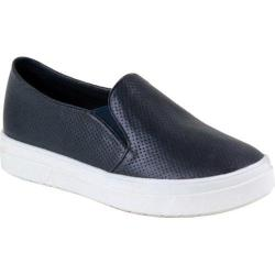 Women's Reneeze Olga-5 Perfed Slip On Sneaker Navy Synthetic