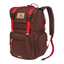 High Sierra Emmett Chocolate/Crimson Tablet Rucksack Backpack