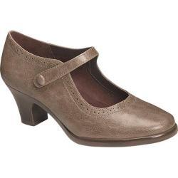 Women's Aerosoles Railroad Mary Jane Taupe Synthetic
