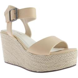 Women's Michael Antonio Antee Wedge Nude Polyurethane