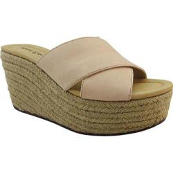 Women's Michael Antonio Gisel Wedge Natural Polyurethane