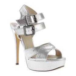 Women's Michael Antonio Tira Sandal Silver Metallic