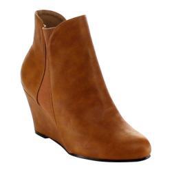 Women's Beston Coco-01 Tan Faux Leather