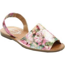 Women's Beston Clori-02 Slingback Sandal Pink Faux Leather