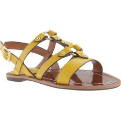 Women's Charles by Charles David Anna Sandal Yellow Leather