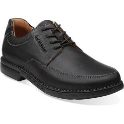Men's Clarks Un.Corner Time Black Leather