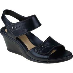 Women's Earth Iris Black Full Grain Leather