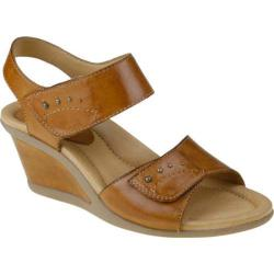 Women's Earth Iris Sand Brown Full Grain Leather