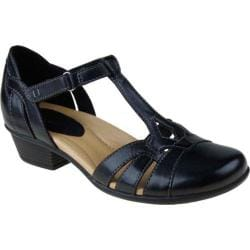 Women's Earth Luck Black Full Grain Leather