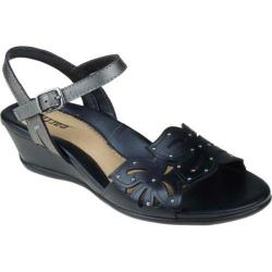 Women's Earth Orchid Black Full Grain Leather