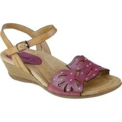 Women's Earth Orchid Raspberry Full Grain Leather